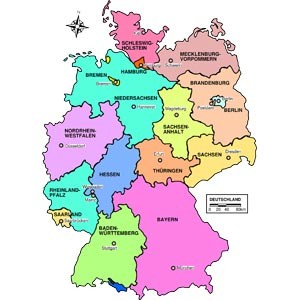 Germany Cities and Places Database with Latitude and Longitude