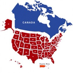 USA and Canada Cities Database with Latitude and Longitude