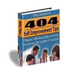 404 Self Improvement Tips (MRR)